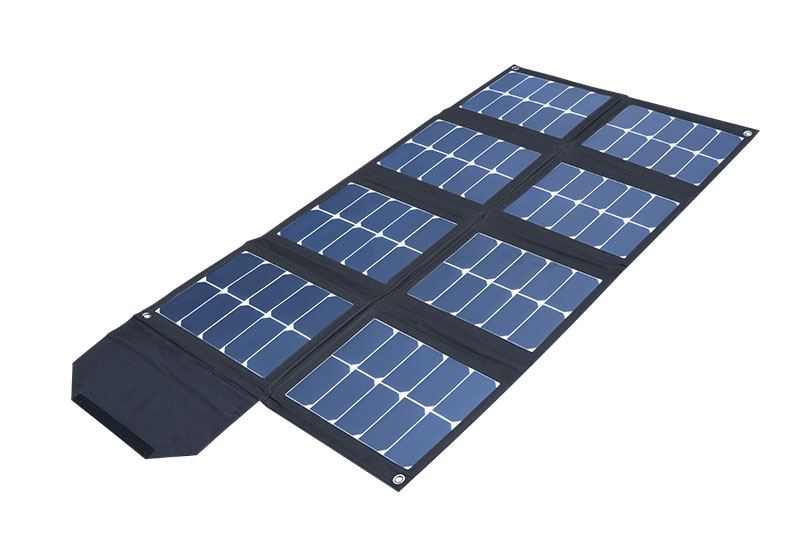 120W portable solar panel
