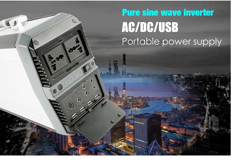 Lithium Ion Car Battery >> 500W Portable Power Station - SKA500 | Shenzhen Sungzu ...