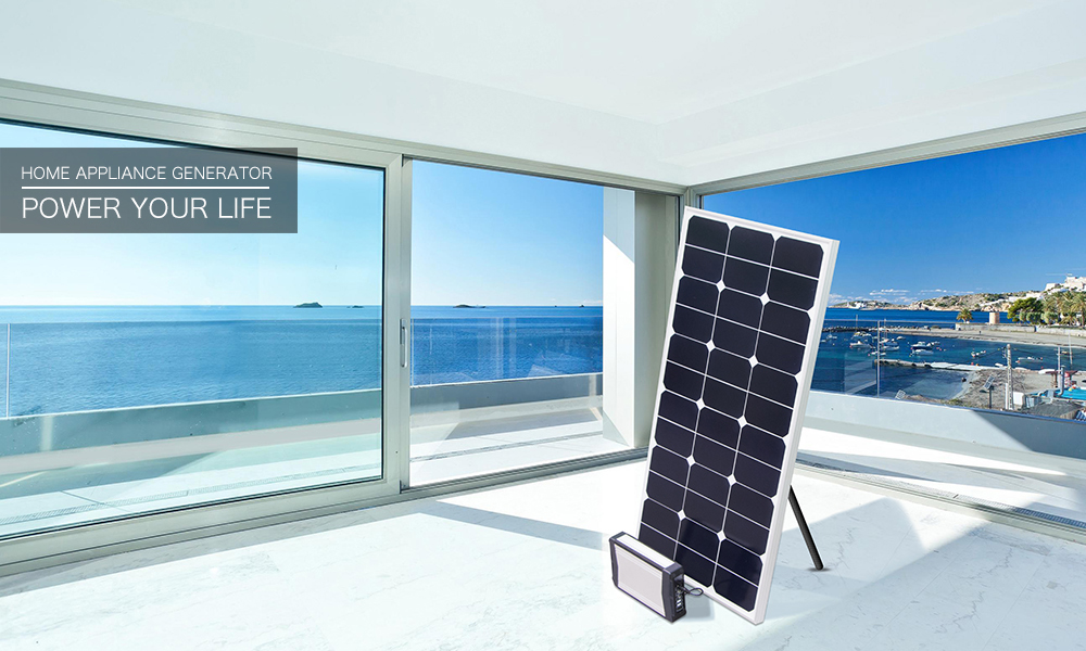 Small Home Solar Power System